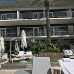View of our room from the pool