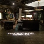 The Backstage Kitchen & Bar with a spectacular beverage menu!