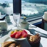 Breakfast with quite a view!