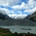 Mt. Cook and Mueller Lake