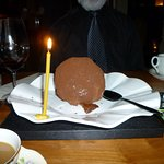 Now you see the giant truffle
