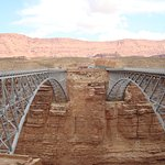 Navajo Bridge, Lee's Ferry, the very top of Grand Canyon