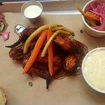 Wings, Fritters, Ribs