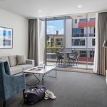 Two Bedroom Modern Suite - Living