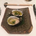 Oyster with Ginger and Rice Vinegar