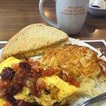 55+ omelet