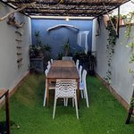 Outdoor eating space