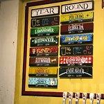 Year round beer menu