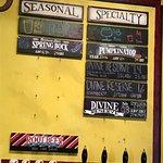 Seasonal specialty beers
