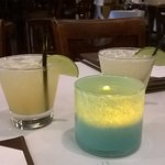 Exotica Tequila 100 % agave served at happy hour
