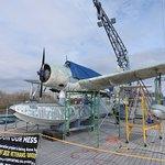 WWII plane being restored
