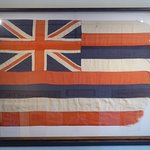 Cool old flag upstairs!