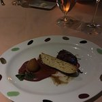 Foie gras, to die for.. Very rich! (MENU DÉGUSTATION)