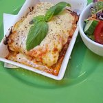 Great Lasagne, Good portion and great cheesy flavors!