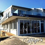 Hugo's Bar and Bistro with a view of the beautiful Copacabana Beach