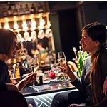 Friends enjoying themself in Funken Bar