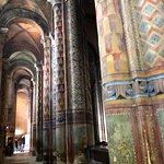 Colonnes peintes