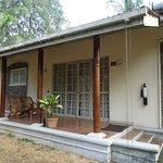 Middle unit of bungalow i