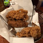 Fried chicken, among the best I've ever had.