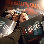 Broke out!