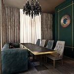 Вип зал на 12 гостей с панорамным видом на Екатеринбург