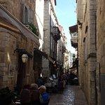 Preko street with restaurants