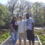 This was our first time on an Airboat ride and it was great.  Capt.  Jim was the Best.  He made