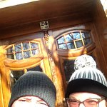 Lovely front door. And hats. Well more hats than front door.
