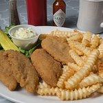 Chicken strips - generous portion