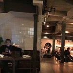 Lobby of restaurant