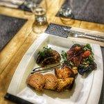 duo de foie gras ( terrine et poélé)