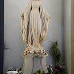 A statue in the church