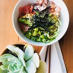 The Windward - Tuna, Edamame, Avo, Ginger, Shredded Nori, and Creamy Wasabi - Poke Bowl