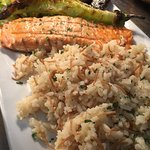 Salmon Fillet with Rice