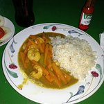 N$150 Curried Shrimp (6 shrimps)