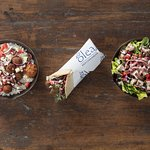 Olea 3 entree types - Build what you Crave