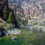 Floating through the spectacular Middle Fork canyons.
