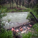 The Middle Fork has many hot spring sites to enjoy.