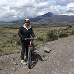 Exhilarating bike ride down Tocopaxi