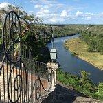 View of Chavon river from Altos de Chavon
