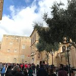 The Vilhena Palace to your right as you enter Mdina with the underground Dungeons !