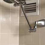 shower head in bathroom