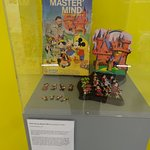 Classic Board game display at SeaCity Museum