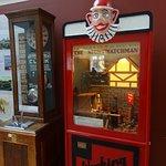 Vintage vending game machines at SeaCity Museum
