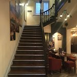 Staircase to Hotel