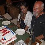 a surprise birthday cake