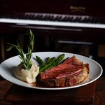 Bacchus House Signature Prime Rib with Ruby Port Au jus with Creamy Horse Radish Sauce