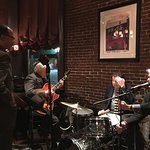 One of the jazz bands