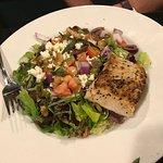 Chop Salad with Mahi Mahi