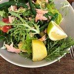 Nicole's salad with salmon - delicious